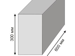 Пеноблоки 200х300х600: сколько штук в кубе