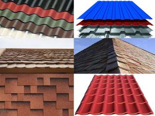 Материалы для кровли крыши дачного дома