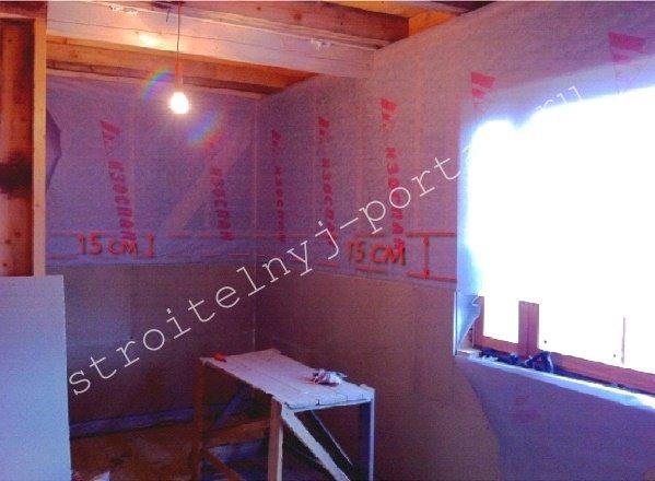 Утепление стен каркасного дома изнутри своими руками