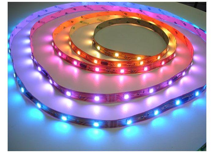 Подсветка с помощью ленты дюралайт