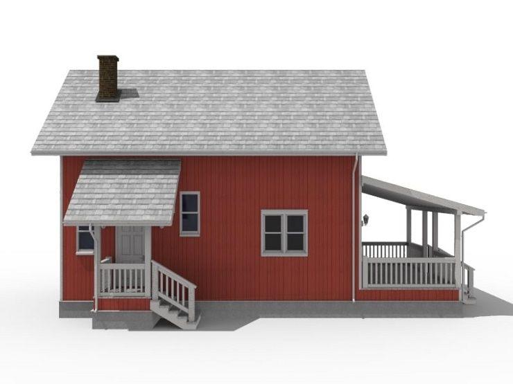 Каркасно-щитовой дом проект с описанием