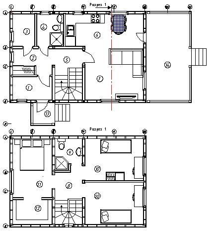 Схема каркасно-щитового дома с полным описанием и фотографиями