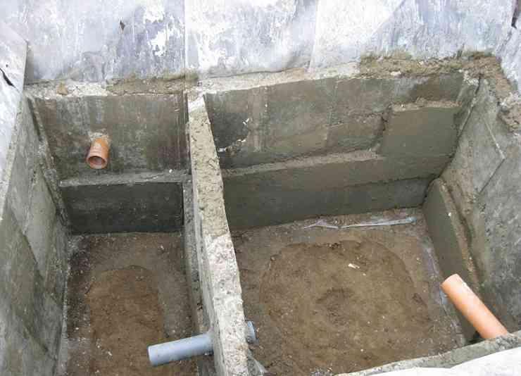 Выгребная яма из ракушки