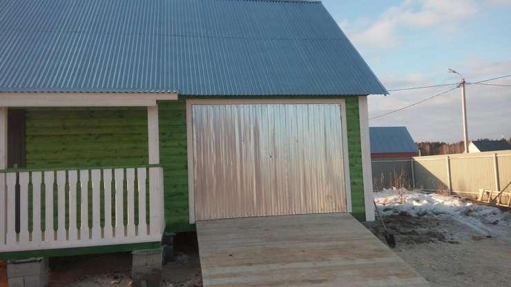 Фото проектов каркасно-щитовых домов с гаражом