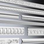 Виды потолочного плинтуса для натяжных потолков