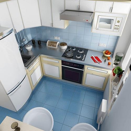 Дизайн небольшой кухни 9 кв метров пример