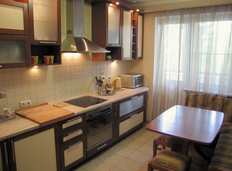 Дизайн маленькой кухни 9 кв метров фото