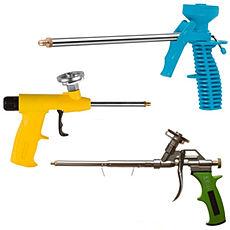 Какие бывают пистолеты для монтажной пены