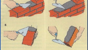 Кирпичная кладка своими руками в полкирпича
