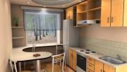 Дизайн кухни 9 кв метров в современном стиле