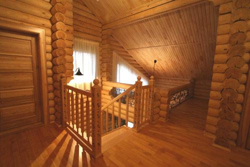 Внутренняя отделка деревянного дома блок-хаусом