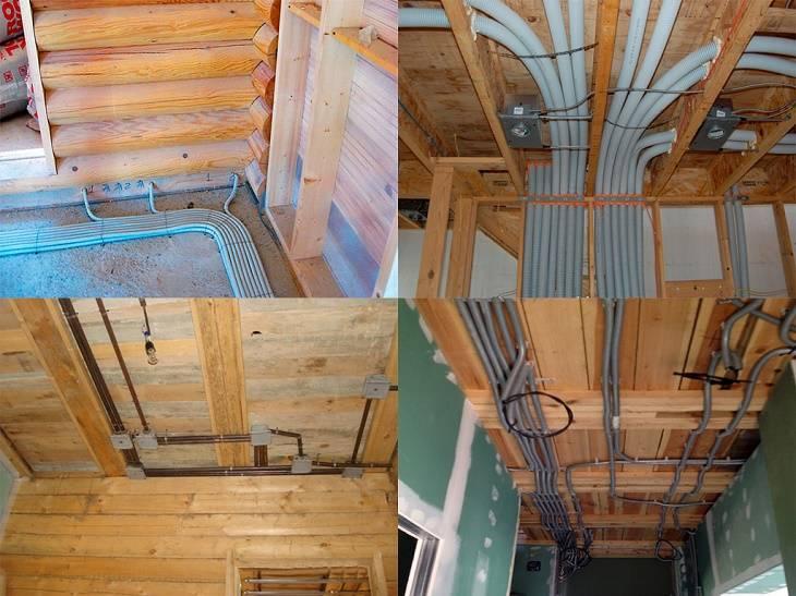 Электропроводка в деревянном доме своими руками пошаговая инструкция