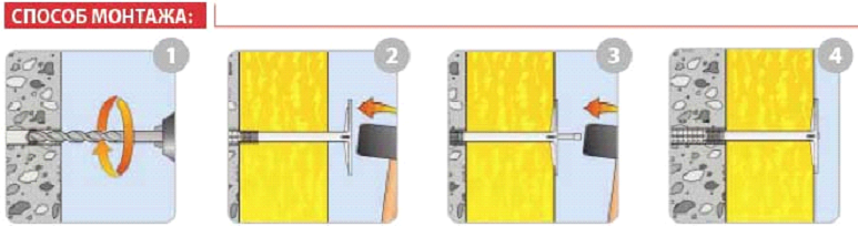 Процесс монтажа пеноплекса