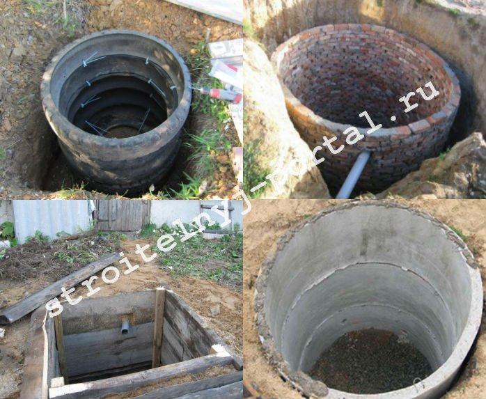 Виды выгребных ям для туалета на даче