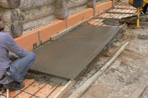Устройство бетонной отмостки своими руками