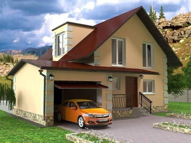 проекты каркасно щитовых домов до 100м2