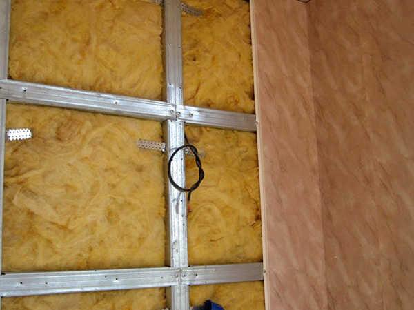Утепление деревянных стеновых панелей