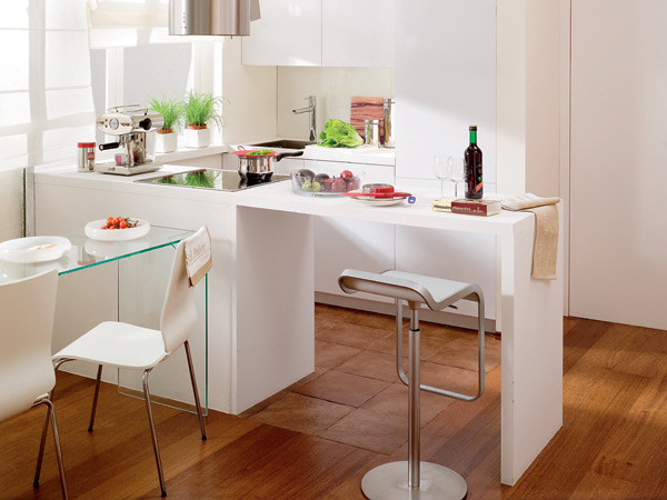 Современная кухня 9 кв метров фото
