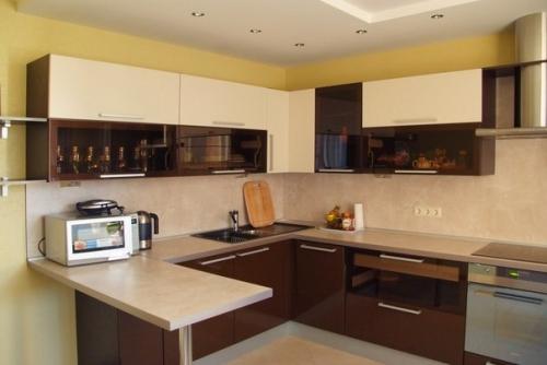 Дизайн кухни 9 кв метров примеры с фото