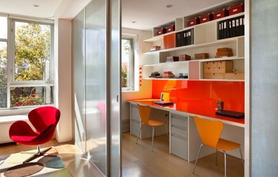 Стеклянные перегородки для зонирования пространства квартиры