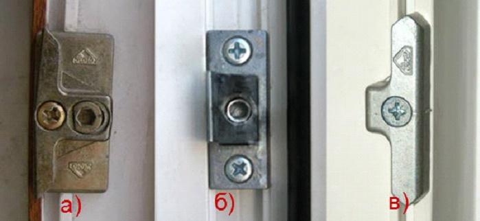 Регулировка пластикового окна с помощью отвертки