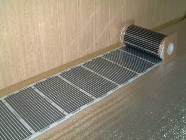 Инфракрасная пленка электрический теплый пол