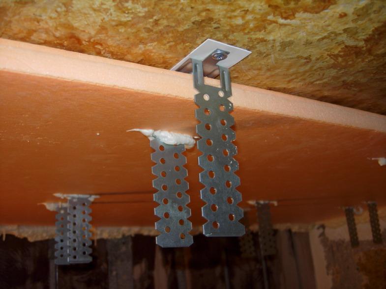 Утепление потолка пеноплексом в частном доме